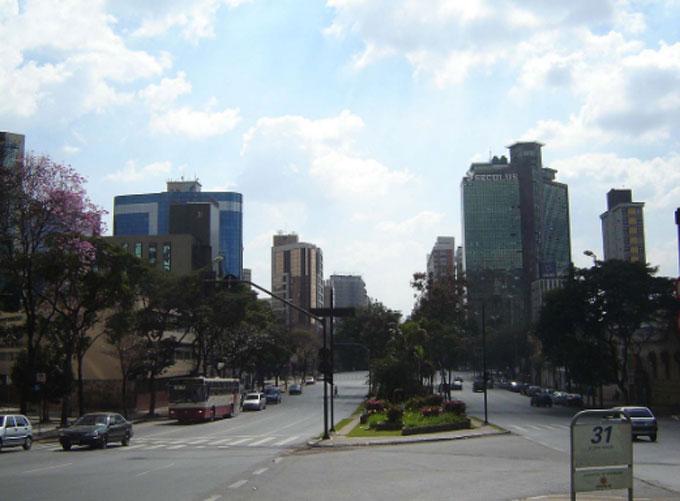 Avenida Afonso Pena Belo Horizonte