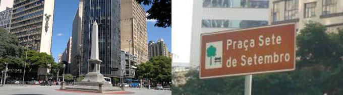 Praça Sete de Setembro Belo Horizonte
